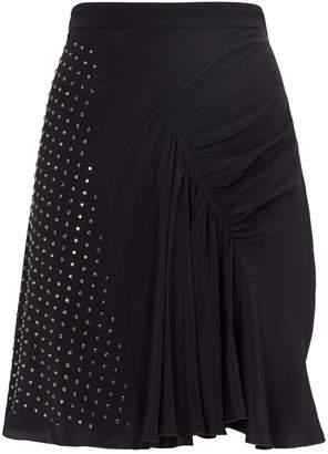 N°21 Diamante-Studded Mini Skirt