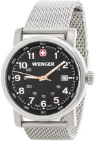 Wenger Urban Analog Watch - 41mm, Stainless Steel Mesh Bracelet