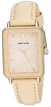 Anne Klein AK-3518GPTN (Tan) Watches