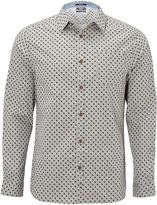 White Stuff Mist Melange Long Sleeve Print Shirt