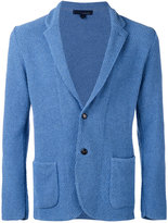 Lardini textured two-button blazer