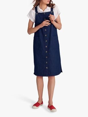White Stuff Shelley Denim Pinny Dress, Blue