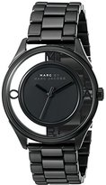 Marc by Marc Jacobs Women's MBM3415 Tether Black Stainless Steel Bracelet Watch