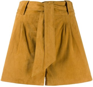 BA&SH Liam belted shorts