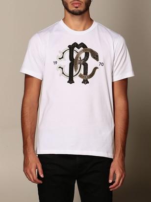 Roberto Cavalli T-shirt With Logo