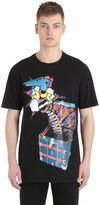 Trussardi Printed Cotton Slub T-Shirt