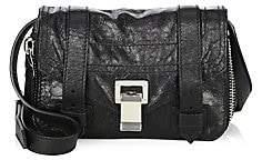 Proenza Schouler Women's Mini PS1+ Zip-Around Leather Crossbody Bag