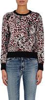 Saint Laurent Women's Jaguar Intarsia Sweater-BLACK