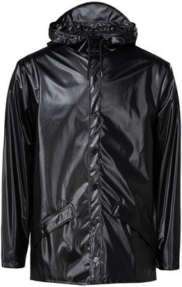 Rains Jacket 1201 Shiny Black - XS/S