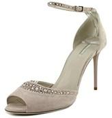 Giorgio Armani X1g159 Open Toe Suede Sandals.