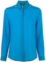 Versus slit shoulders shirt - women - Polyester - 36