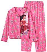 Disney Disney's Elena of Avalor Girls 4-12 Button-Front Pajama Set
