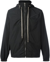 Rick Owens hooded windbreaker - men - Polyester/Cupro - 46