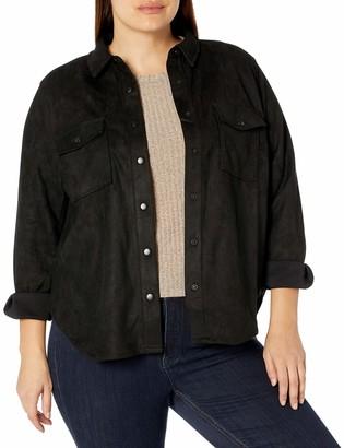 Forever 21 Women's Plus Size Faux Suede Jacket