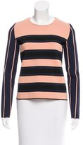 Cédric Charlier Striped Long Sleeve Top