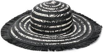 Etro Flora-Print Woven Sun Hat