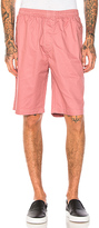 Stussy Light Twill Beach Short in Pink. - size M (also in S,XL)