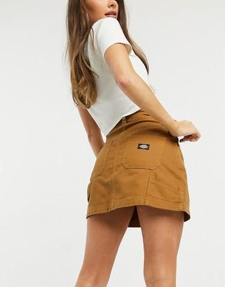 Dickies Shongaloo skirt in brown