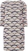 Dorothy Perkins Coral Shell Print Swing Dress