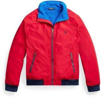 Ralph Lauren Boys Fleece Lined Bomber Jacket