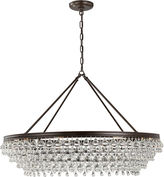 Crystorama Calypso 8-Light Chandelier, Bronze
