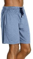 Hanes Men's Jersey Lounge Drawstring Shorts with Logo Waistband 2-Pack