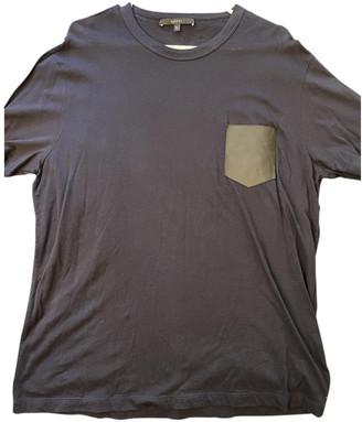 Gucci Navy Cotton T-shirts