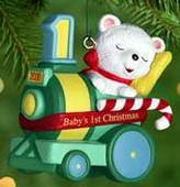Hallmark Baby's First Christmas 2000 Keepsake Ornaments