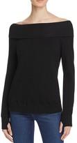 Pam & Gela Off-The-Shoulder Sweatshirt