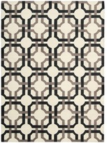 Waverly Artisanal Delight Groovy Grille Licorice Area Rug by Nourison (4' x 6')