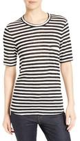 A.L.C. Women's Joels Stripe Linen Tee