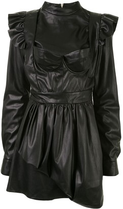 Natasha Zinko Ruffle Mini Dress