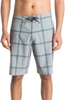 Quiksilver Men's Primetime Check Print Board Shorts