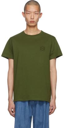 Loewe Green Anagram T-Shirt