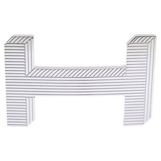 Hermã ̈S HermAs Silver Metal Belts