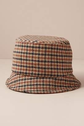 Helene Berman Checked Bucket Hat