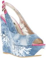 1 To 3 1To3 denim patchwork sandal