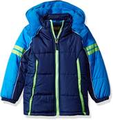 iXtreme Little Boys' Colorblock Active Puffer