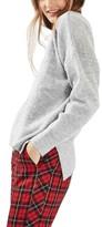 Topshop Women's Pointelle Boxy Sweater