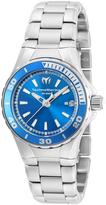 Technomarine Stainless Steel & Blue Sea Manta Bracelet Watch