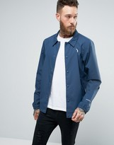 The North Face Coach Jacket In Blue