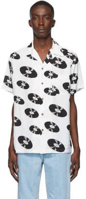 Wacko Maria White and Black Type 5 Shirt