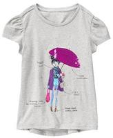 Gymboree Rainy Chic Tee