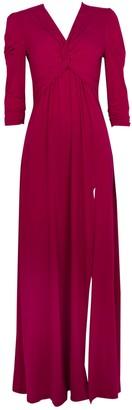 Wallis **Jolie Moi Berry Twist Maxi Dress