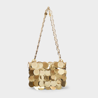 Paco Rabanne Sparkle 1969 Iconic Oversized Sequin Nano Bag In G