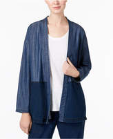 Eileen Fisher Organic Kimono Jacket, Regular & Petite