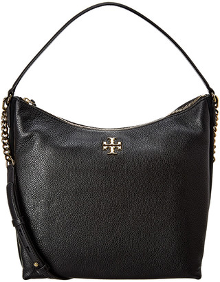 Tory Burch Kira Leather & Suede Hobo