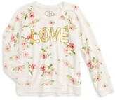 Chaser Girl's Love Sweatshirt