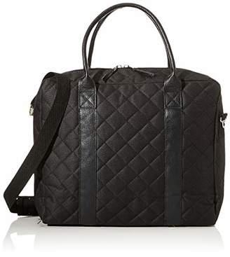 Manostiles Danish Design Changing Leather Bag, Black