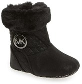 MICHAEL Michael Kors Infant Girl's 'Baby Kelly' Quilted Fur Bootie